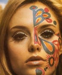 i used this as a basis for face paint for a fancy dress where i dressed as a hippy