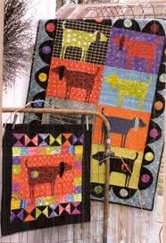 55 best Country Threads images on Pinterest | Loom, Block quilt ... & Spot by Country Threads; did this in bright primary colors with six dog  blocks, faced the ears to make them floppy as a baby quilt. Adamdwight.com