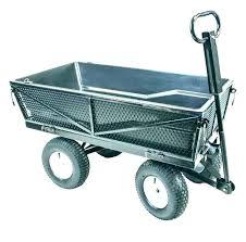 garden dumping cart gorilla garden dump cart carts yard lb poly capacity