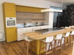 Cuisine Contemporaine Bois Et Couleurs Contemporary Kitchen