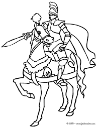 Coloriage Chevalier Princesse Imprimer Coloriage Imprimer