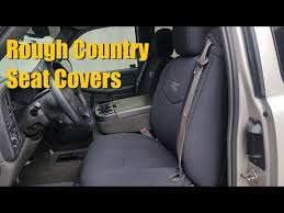 rough country neoprene seat covers