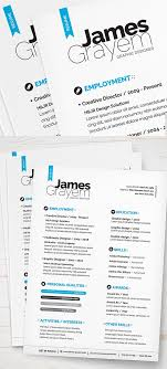 Resume Free Templates Simple And Clean Resume Free Psd Template