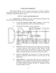 Land Lease Contract - Fill Online, Printable, Fillable, Blank ...