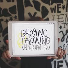 Drawing On Ipad Pro Lettering Drawing On The Ipad Pro Rad Happy