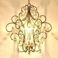 small hanging crystal chandelier rustic mini chandelier bay 3 light antique white hanging mini chandelier within