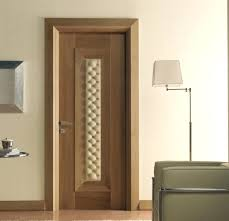 interior door design natural walnut quilted leather inserts ac modern glass doors interior design ideas