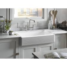 White Enamel Kitchen Sinks Kohler Cast Iron Single Bowl Kitchen Sink Best Kitchen Ideas 2017