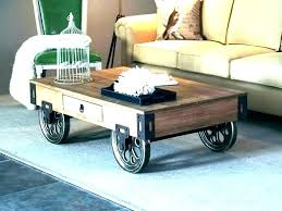 coffee tables with casters coffee table with caster wheels coffee table on casters small table on