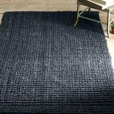 west elm rug 2016 easy pieces black low pile area rugs jute iron