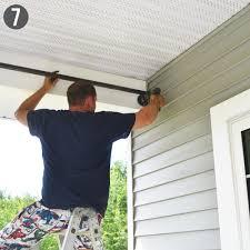 rod make outdoordrop cloth ds diy outdoor curtain astounding