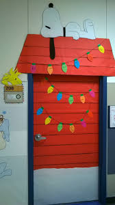 christmas office door decorations. charlie brown christmas classroom door decoration love that snoopy and little woodstock i can add lights to my decor thatu0027s already there office decorations