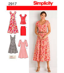 Joann Fabrics Patterns Magnificent Simplicity Pattern 48Misses'Women's DressSz 48W 48W JOANN