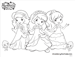 Strawberry Shortcake Coloring Pages - GetColoringPages.com