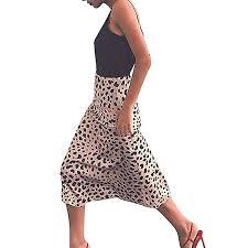 Fashion Womens Sexy England Leopard Printed Split ... - Amazon.com