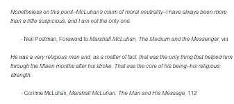 Religious Relationship Quotes Impressive The Medium Is The Messiah McLuhan's Religion And Its Relationship