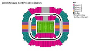 St Petersburg Stadium Seating Chart Fifa Com Fifa Confederations Cup Russia 2017 Ticket
