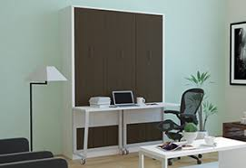 office murphy bed. avant garde espresso office murphy bed