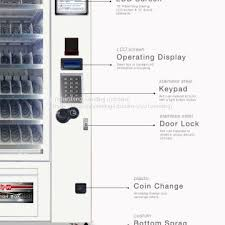 Automat Vending Machine For Sale Adorable YCFVM48 Cold Drinks Vending Machines For Saleautomat Food Vending