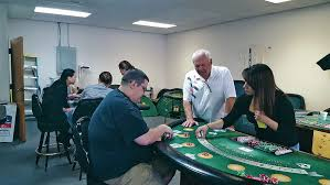 At Albuquerque Casino Dealers School Students Betting On A
