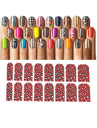 Nail Art Sticker (Red Leopard) – Buy Women Online in India ...