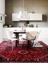 Red Rugs For Kitchen Vintage Persian Kilim And Turkish Rugs In The Kitchen And Where