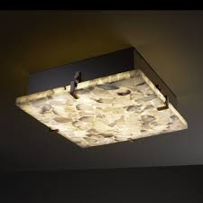 image of square modern ceiling light fixtures