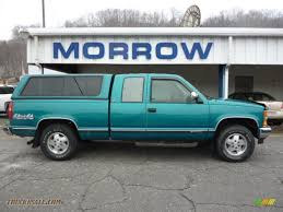 1994 Chevrolet C/K K1500 Extended Cab 4x4 in Bright Teal Metallic ...