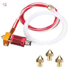 [COD]<b>3D Printer MK8</b> Hotend Kit <b>Extruder</b> Assembled 0.4mm <b>Nozzle</b> ...