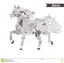 Small Picture Best Horse Coloring Pages For Adults Pictures New Printable