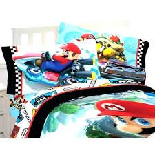 super bed bedroom set road rumble collection furniture mario customize odyssey bedding duvet cover
