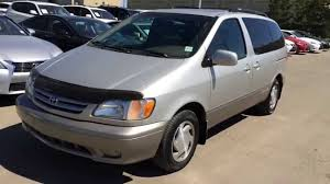 Pre Owned Silver 2002 Toyota Sienna 5dr XLE Walk Around Review ...
