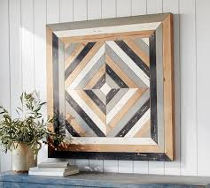 planked wood wall art wall decor