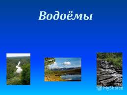 Презентация на тему Водоёмы Естественные Океан Море Озеро Река  Водоёмы