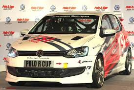 new car launches team bhpVolkswagen Polo R Cup 2012 Launched  New 180 BHP petrol cars
