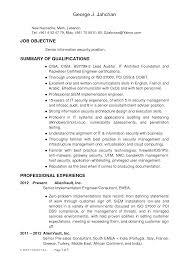 Templates Senior Security Architect Sample Job Description Executive