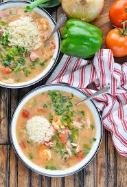 healthy slow cooker gumbo the