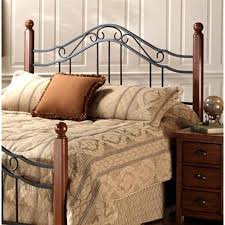 wood and iron bedroom furniture. Wood And Iron Bedroom Furniture. Get Quotations · Madison Lodge Style Metal Scroll Headboard With Furniture I