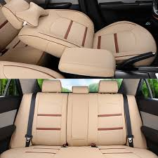 acura mdx seat covers cartailor pu leather cover seats for 2007 2008 2009 2010 2016 acura