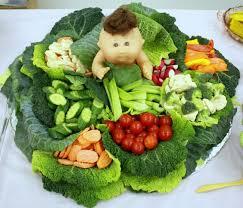 How To Decorate Salad Tray veggietrayideasforbabyshowergreenletucecarrotsbellpepper 30