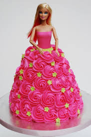 Birthday Barbie Cake Birthday Cake Lindz Cafe Coimbatore Id