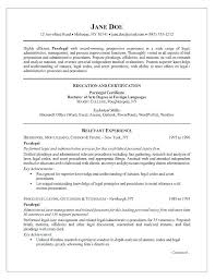 Paralegal Job Description For Resume Best of Paralegal Resume Sample Paralegal Job Description Resume Paralegal