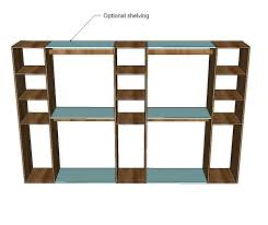 contemporary ideas diy closet shelves plans build your own closet organizer plans diy closet shelf plans