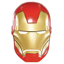 Try to color iron man to unexpected colors! Plastic Iron Man Mask For Children Party City