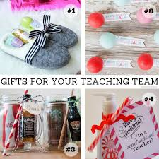 easy gifts for your teaching team
