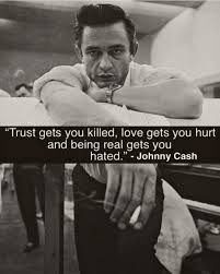 Real Johnny Cash Quote Johnnycash