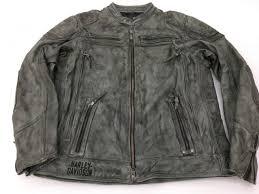 men s harley davidson carboy leather jacket new nwt 2xl l tall 97105 16vm