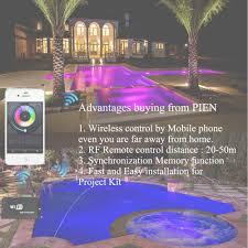 <b>WIFI Wireless RGB LED</b> Pool lights Resin filled Par56 Underwater ...