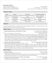 Resume For Freshers Awesome 48 Fresher Resume Templates PDF DOC Free Premium Templates