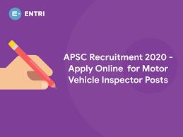 apsc recruitment 2020 apply